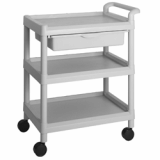 Utility Plastic Cart(Wagon, Trolley) 201D