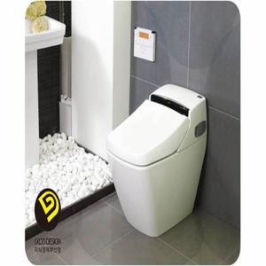 Toilet with built in electronic bidet pb 707s from prr korea b2b marketplace portal south - Toilet with bidet built in ...