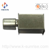 rf connector with shield