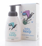 Baby keep natural bubble cleanser