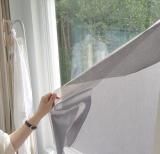 Veilish Self_Adhesive Fabric Window Privacy Film