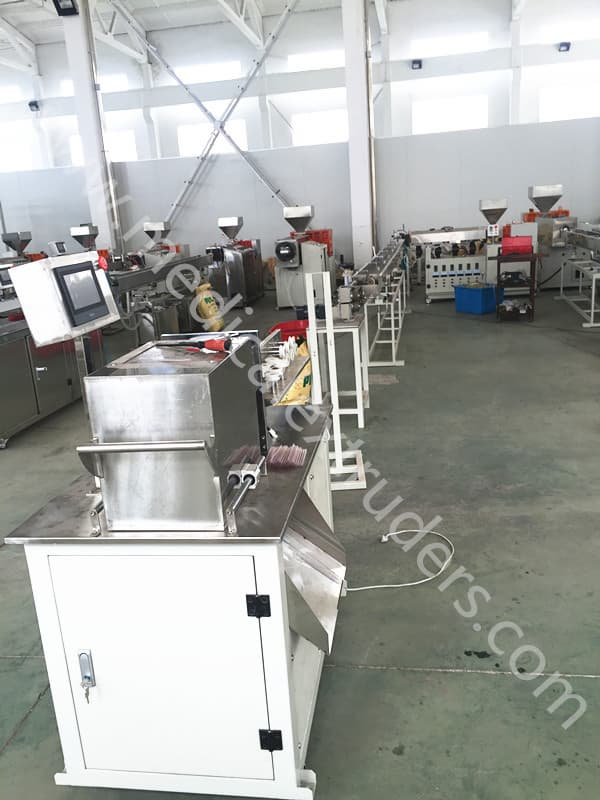 Medical dental saliva ejector tube making machine