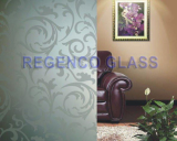 Acid Etched Patterned Glass