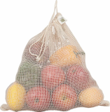 Cotton Mesh Bags, drawstring bag