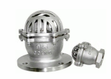 Cast steel_cast iron foot valve