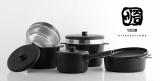 Aluminum Diecasting Cookware with Induction _ Titanium coat