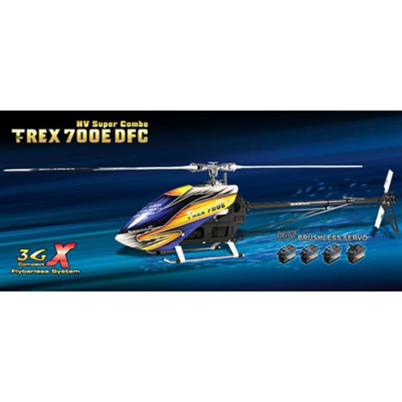 Align T-Rex 700E DFC HV Super Combo Electric Helicopter AGNKX018E15