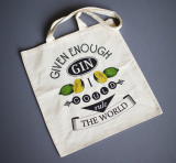 Cotton Grocery Bag_ Reusable Cotton Shopping Bag_ Tote Bag