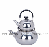 DY-B022 Stainless Steel Turkish Teapot For Export