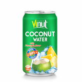 330ml Canned Coconut water with Pineapple juice