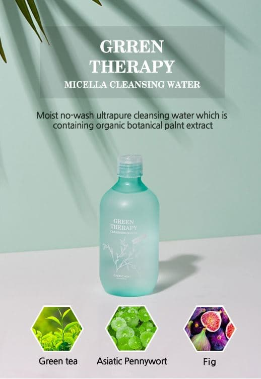 CHOU CHOU GREEN THERAPY MICELLA CLEANSING WATER