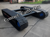 steel tracked undercarriage