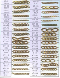 Brass Chain for imitation jewelry -KT1--