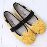 304-2 Corsage Flat shoes
