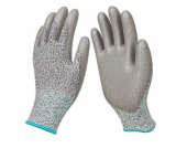 Cut Resistant Gloves_Polyurethane_PU Palm coated