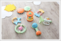 Eco-friendly Biodegradable Rattle & Teether Set (7pcs)