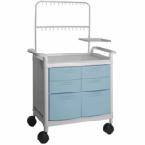 Plastic IV injection Utility Cart(Trolley)