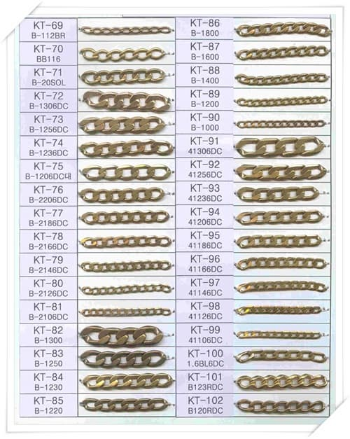 Brass Chain for imitation jewelry -KT01--