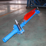 Preclear cleaner scraper for belt conveyor