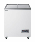 Ultra Low temperature show case freezer