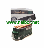 Custom tin toy tin car tin truck tin van tin box