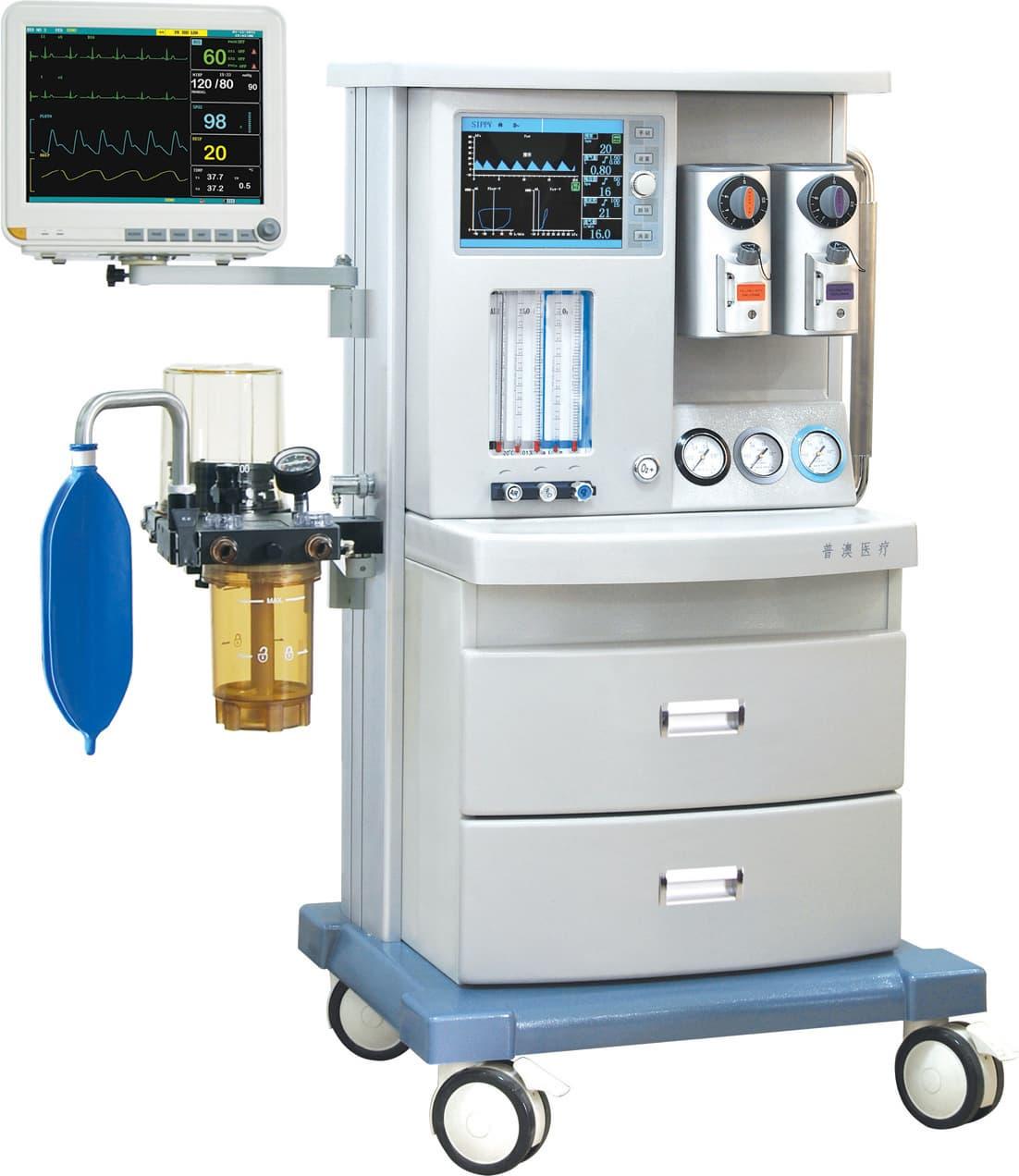 Anesthesia machine(Jinling-850) from Nanjing Puao Medical ...
