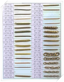Brass Chain for imitation jewelr y-KT681--