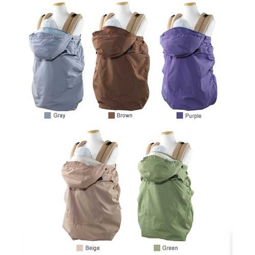 infantino hoodie universal rain baby carrier cover bebamour