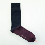 Men_s dress socks _ Crimson block socks_Egyptian cotton