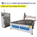 3 Axis Linear Auto Tool Change CNC Router with Italy Spindle