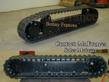 1-20 ton rubber track undercarriage (OEM)
