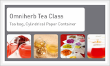 Omniherb Tea Class (Tea Bag, Cylindrical Paper Container)
