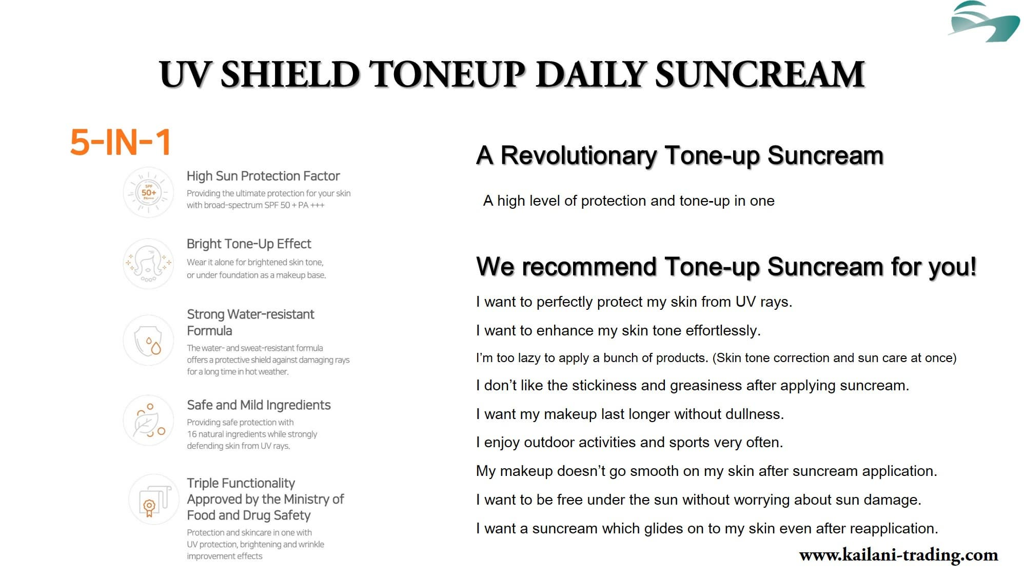 KAILANI INT_ SOME BY MI UV SHIELD TONEUP DAILY SUNCREAM
