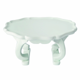MJ Art Design _Dog_Legged White Porcelain Tray_