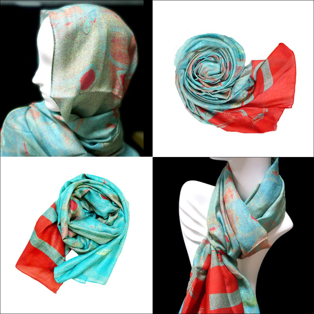 Modal Scarf_Evergreen
