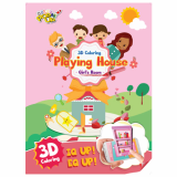 3D Coloring Playing House _Girl_s room_