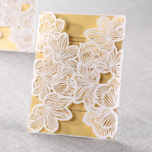 Laser cut wedding invitation card from bhands card co ltd laser cut wedding invitation card stopboris Gallery
