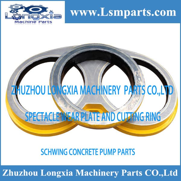 Schwing concrete pump spare parts wear plate and cutting | tradekorea