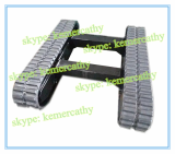rubber track undercarriage _ rubber crawler undercarriage