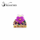 -Renachris- Mini Rolling hair claw -hct019-