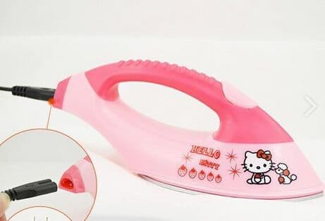 Portable Kitty Mini High Temperature Separated electric iron