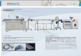 PVC PU medical IV infusion tube extruder machine line