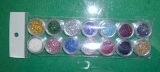 Glitter powder for nail decoration