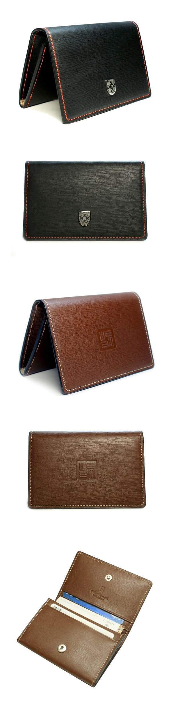 Hand made Name card wallet for Men