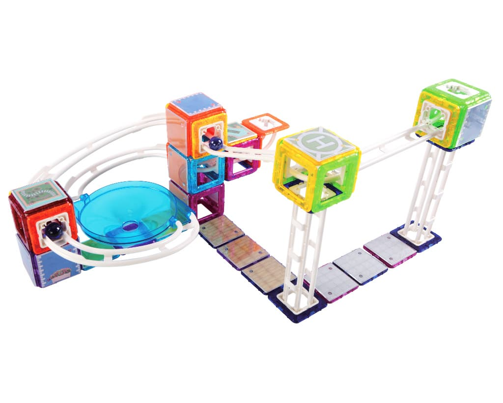 Click Block_ Magnet educational toy Rollingmaster Set 138pcs