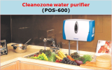 CLEANOZONE WATER PURIFIER_ POS _ 600