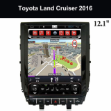 Toyota Tesla Screen Car Navigation System Company_Highlander