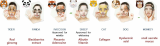 facial mask pack