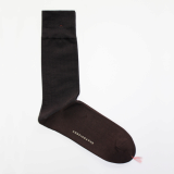 Men_s dress socks _ Dark gray block socks_Egyptian cotton