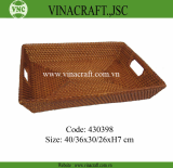 High quality rattan tray from Vietnam